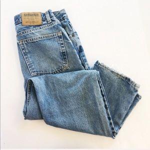 Eddie Bauer   High Waisted Vintage Mom Jeans